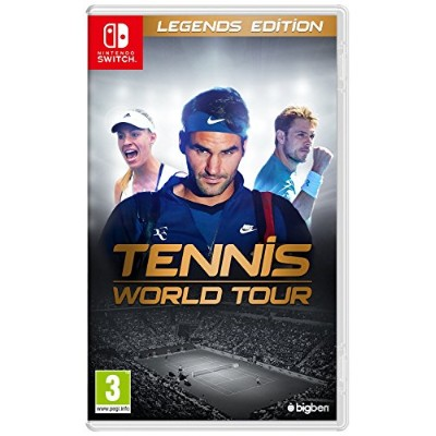 Tennis World Tour - Legends Edition (Nintendo Switch) - Imported GB. (UK)