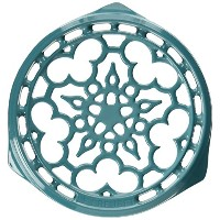 "Le Creuset Deluxe Round Trivet 9"" ブルー N0200-17"