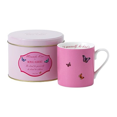 Royal Albert Mug in Tin 0.29Ltr Be Kind, Pink