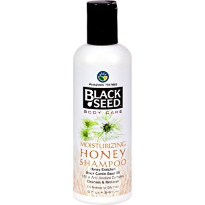 Amazing Herbs - Black Seed Moisturizing Honey Shampoo - 8 oz. by Amazing Herbs