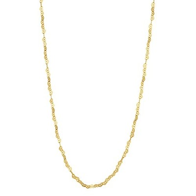 ペンダントNomination Women Yellow Gold Chain Necklace - 146522/003[並行輸入]