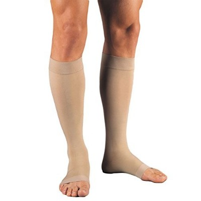 海外直送品Jobst Relief Knee High Extra Firm Compression 30-40Mmhg Beige, Large each by Jobst