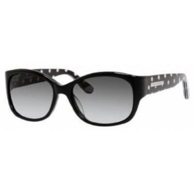 JUICY COUTURE 551/S Sunglasses 0RE8 Black Polka Dot 54-16-130