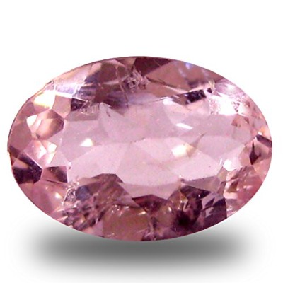 0.51 ct Oval Cut (7 x 5 mm) Pink Color Natural Morganite Natural Gemstone