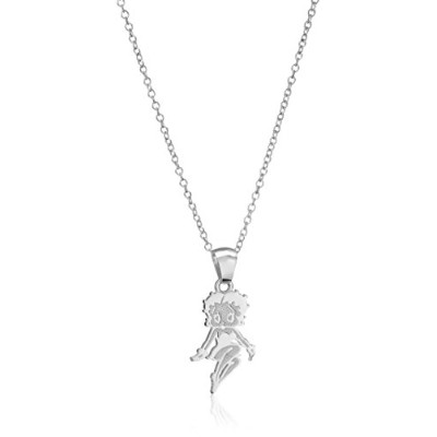 Betty Boop Sterling Silver Charm