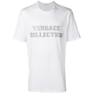 Versace Collection logo print T-shirt - ホワイト