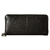 フライ レディース 財布【Jacqui Zip Wallet】Black Veg Washed Calf
