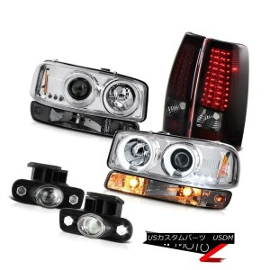 テールライト 99-02 Sierra SL Fog lamps led tail parking lamp ccfl projector Headlights LED 99-02 Sierra...