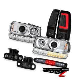 テールライト 99-02 GMC Sierra Taillamps Roof Brake Lamp Foglights Bumper Light Headlights LED 99-02 GMC...