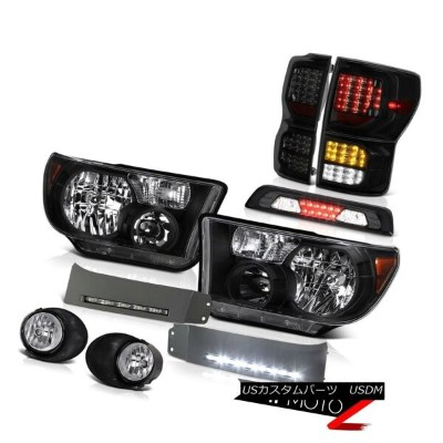 テールライト 07-13 Toyota Tundra SR5 Taillights Headlights DRL Strip Foglamps Roof Cab Lamp 07-13トヨタ...