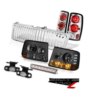 テールライト 00-06 Suburban Z71 Smoke Headlights Brake Lamps Foglights Euro Third LED Grille 00-06郊外Z71煙のヘ...