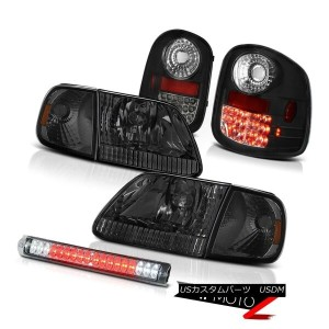 テールライト Tint Headlights LED Bulbs Tail Lights Third Brake 1997-2003 F150 Flareside 4.6L ティントヘッドライトLED...
