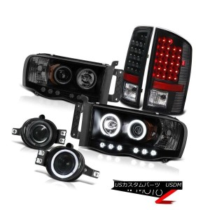 テールライト 2002-2005 Ram Hemi 5.7L Laramie CCFL Tech Projector Headlight Bulbs Tail Light 2002-2005 Ram...