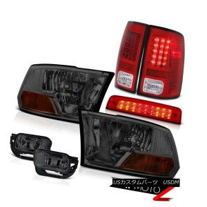 テールライト 2009-2013 Ram 1500 Laramie Red Roof Brake Lamp Fog Lamps Tail Headlamps Assembly 2009...