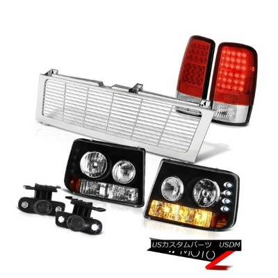 テールライト 2000-2006 Tahoe 4.8L Headlight Bumper Tail Light LED Projector Fog Chrome Grille 2000...