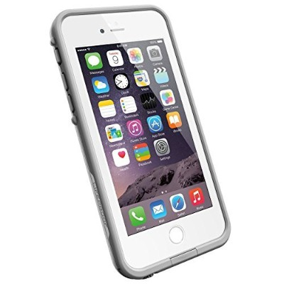 LifeProof iPhone 6(4.7' Version) Case - Fre Series - Avalanche (Bright White/ Cool Gray) [並行輸入品]