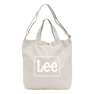 LEE リー ビッグトートバッグ 0425371 グレー