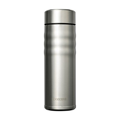Kyocera Travel Mug with Twist Top 17oz シルバー
