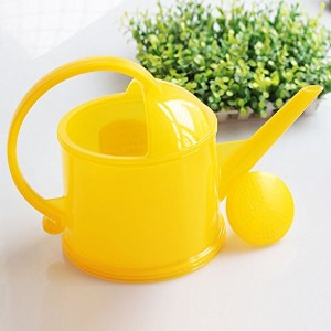 Wddwarmhome 2L樹脂湯沸かしポット屋内鉢植え湯沸かし湯ガーデン湯沸しガーデニング用品 (色 : イエロー いえろ゜)