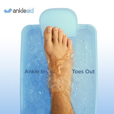 Ankleaid Foot, Ankle, Achilles, Plantar Fasciitis and Elbow Healing Device - Heal Faster and More...