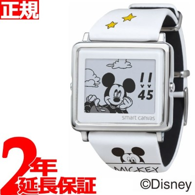EPSON smart canvas ディズニー Mickey & Friends Mickey Mouse 腕時計 メンズ レディース W1-DY30410【2018 新作】