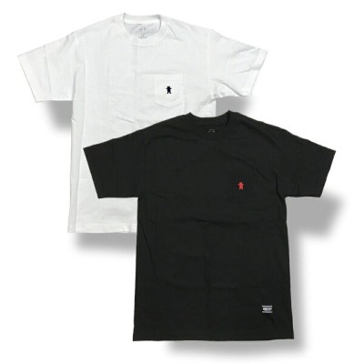 Grizzly(グリズリー) OG Bear Embroidered Pocket T-Shirt (T-シャツ)