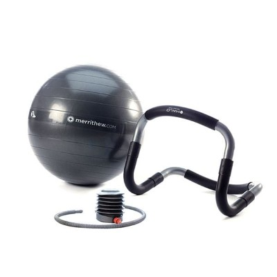 MERRITHEW(メリシュー)MERRITHEW Halo Trainer with Stability Ball (21.7 inch / 55 cm) & Pump  yoga/ヨガ ...