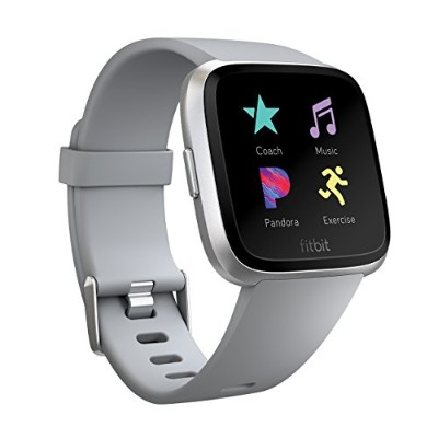 Fitbit フィットビット スマートウォッチ Versa iOS/android対応 バッテリーライフ4日以上 睡眠ステージ記録 歩数&距離&カロリー記録 耐水50m性能  着信/SMS/アプリ...