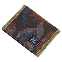 JEMINAL New Mens and Boys Camo Canvas Wallets Purse with Zipper Coin Pocket-jeminal01  polo