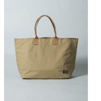 UR TRAVEL COUTURE by LOWERCASE FORCE-TYPEナイロントート【アーバンリサーチ/URBAN RESEARCH メンズ, レディス トートバッグ BEIGE ルミネ...