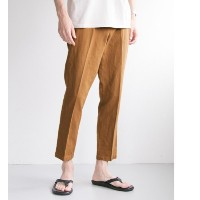 UR C/L ANKLE TROUSER【アーバンリサーチ/URBAN RESEARCH メンズ その他(パンツ) BROWN ルミネ LUMINE】