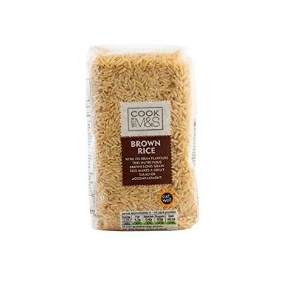Marks & Spencer Long Grain Brown Rice 500g - (Marks & Spencer) 長粒玄米500グラム [並行輸入品]