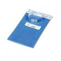 Crowd Management Wristbands, Sequentially Numbered, Blue, 100/Pack (並行輸入品)