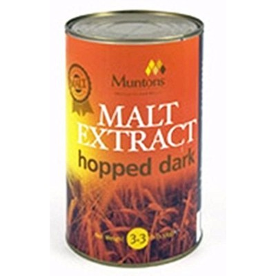 Malt Extract hopped dark 1.5kg (3.3 lbs) by Monster Brew Home Brewing Supplies