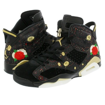 NIKE AIR JORDAN 6 RETRO CNY 【CHINESE NEW YEAR】 ナイキ エア ジョーダン 6 レトロ CNY BLACK/MULTI COLOR/SUMMIT...