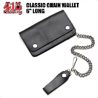 "415 CLOTHING / CLASSIC CHAIN WALLET / チェーンレザーウォレット・6"" LONG"