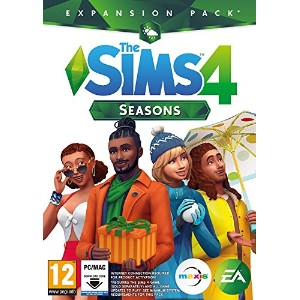 The Sims 4 Seasons (PC Download Code in a Box) (輸入版)
