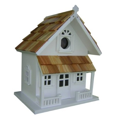 Home Bazaar HB-9001WS Victorian Cottage - White