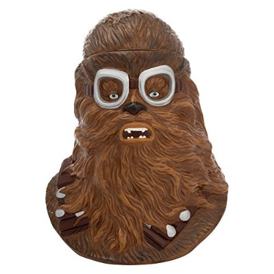 (Chewbacca, Cookie Jar) - Vandor 56012 Solo: a Star Wars Story Chewbacca Sculpted Ceramic Canister,...