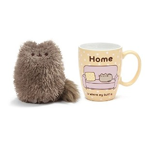 Pusheen 's Little Brother PIP ANDホームPusheenマグギフトセット