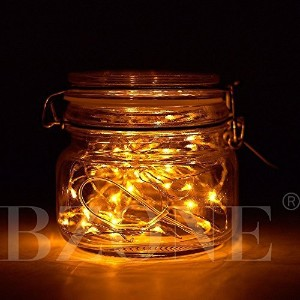 (Yellow) - BZONE Led String Starry Light Copper Wire Lights (20 Leds,Yellow Colour,2.1m)