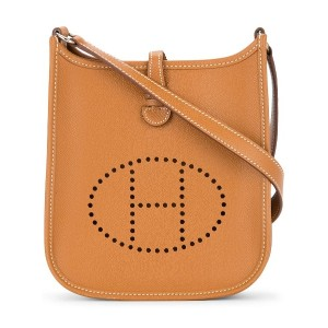 Hermès Vintage Evelyne TPM crossbody bag - ブラウン