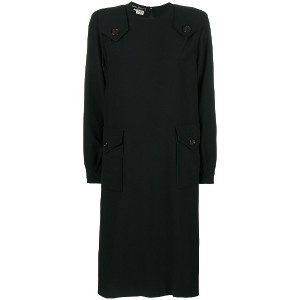 Salvatore Ferragamo Vintage Ferre dress - ブラック