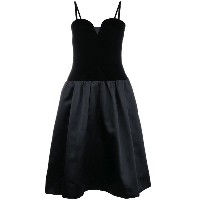 Yves Saint Laurent Vintage corset dress - ブラック