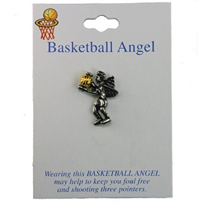 Basketball player angel帽子ラペルピン
