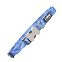 Red Dingo DC-ZZ-MB-LG Dog Collar Classic Mid Blue, Large