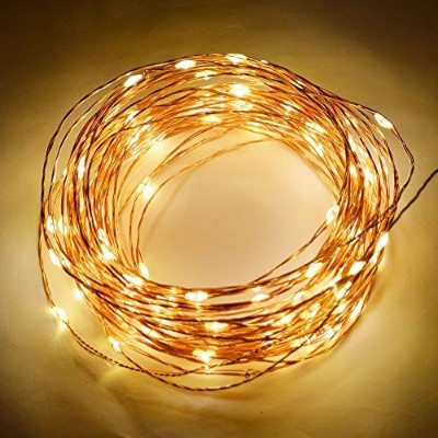 Fantado Fairyワイヤ防水文字列ライトby PaperLanternStore 100 LED - 33FT (AC Plug-In) Copper Wire AC1004-CPWW