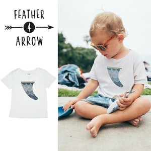 【P最大41倍&クーポン多数】キッズ Tシャツ フェザー4アロー FEATHER 4 ARROW [ Cosmic Waves Vintage Tee ] 子供服 [メール便] [0401]