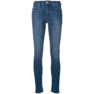 Liu Jo faded slim fit jeans - ブルー