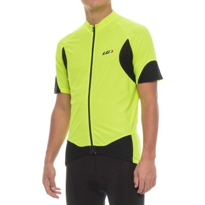 ルイガノ メンズ 自転車 トップス【Metz Lite Cycling Jersey - UPF 20, Short Sleeve】Bright Yellow